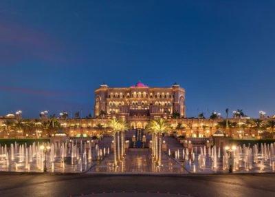 Emirates Palace, managed by Kempinski